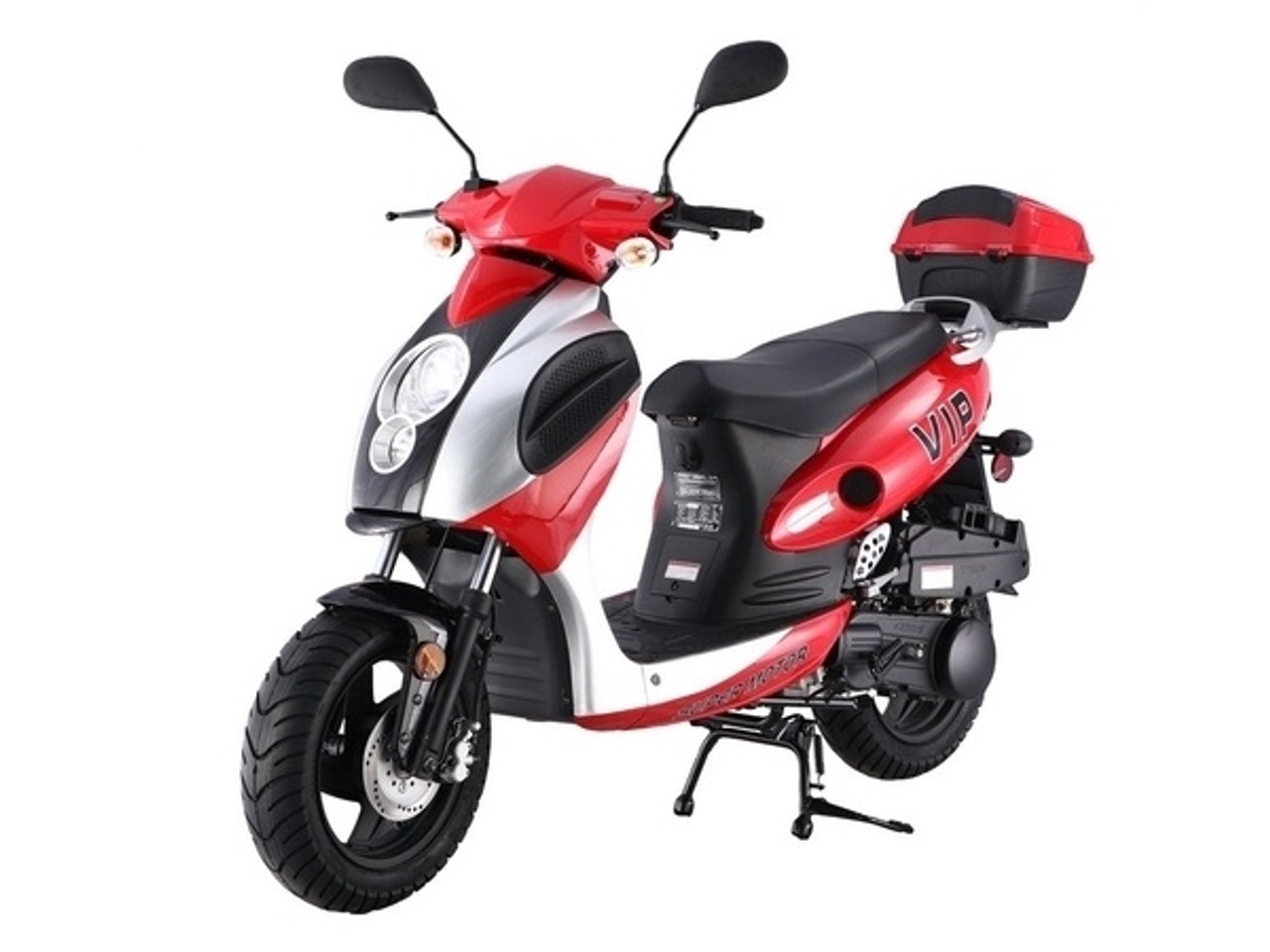 Taotao Power-Max 150CC Scooter Comes With Free Matching Trunk