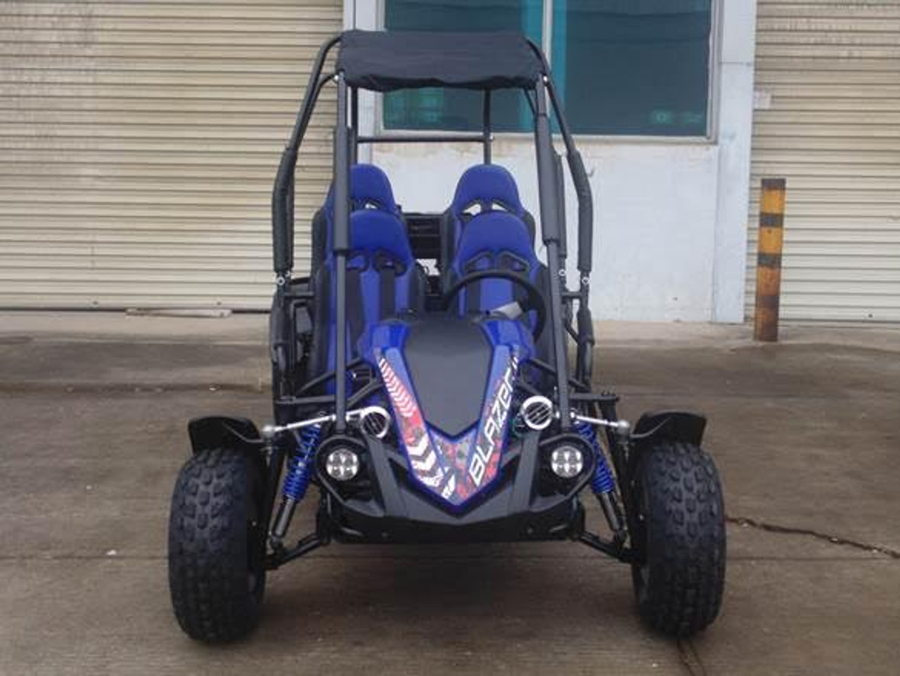 TrailMaster Blazer4 150CC Family Size 4-Seater Go Kart