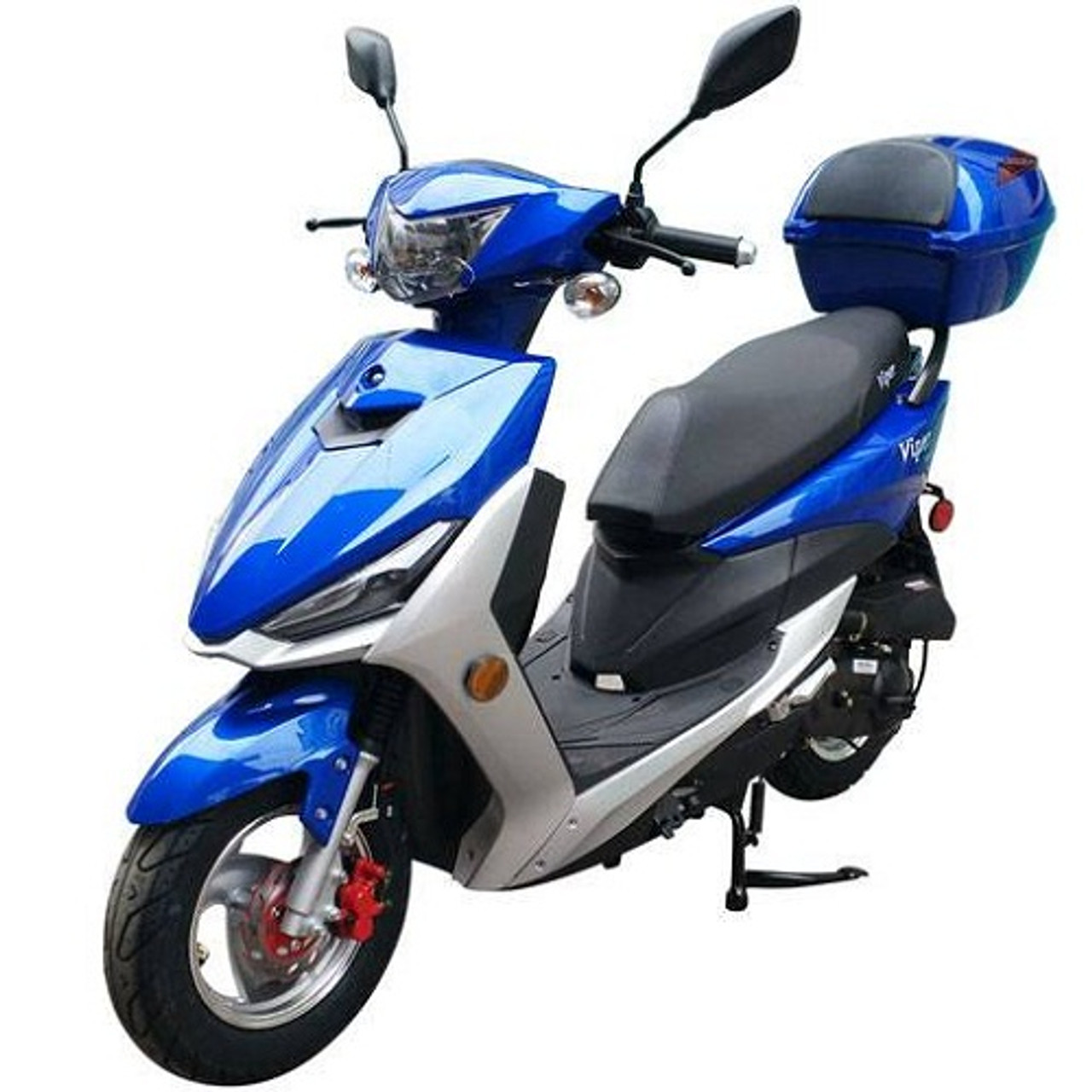 Vitacci Viper 49cc Scooter, 4 Stroke, Single Cylinder, Air-Forced Cool
