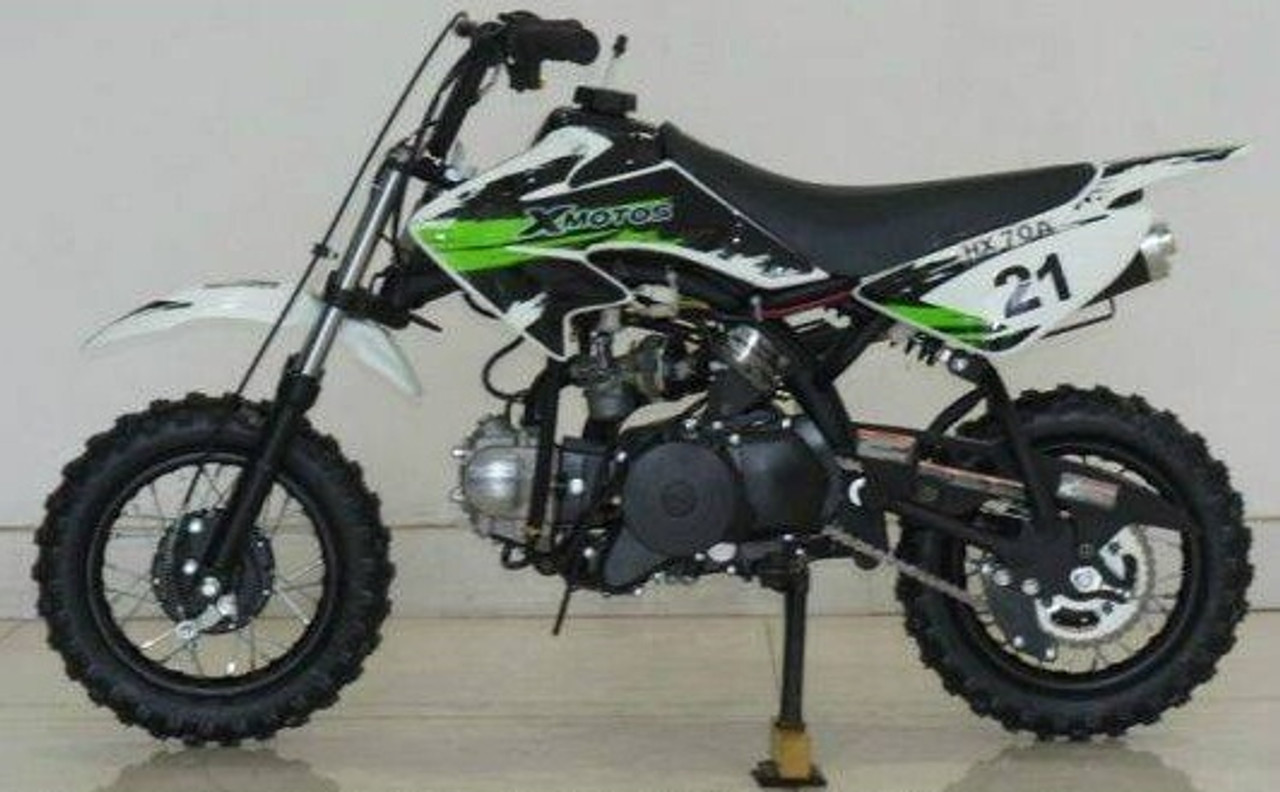 RPS XMOTO 70CC Automatic Dirt Bike With Electric Kick Start