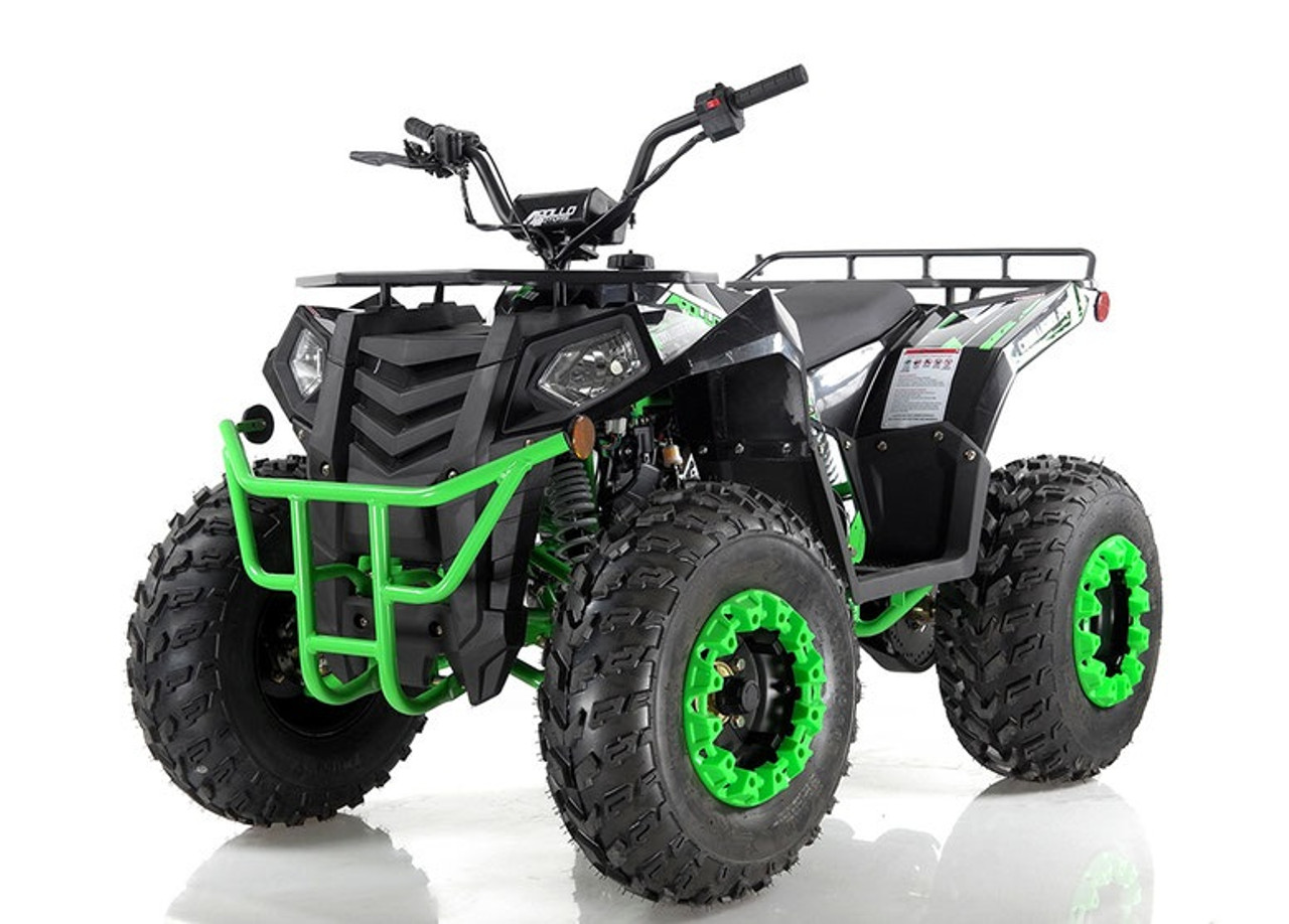 NEW APOLLO COMMANDER 200 ATV, AIR COOLING ELECTRIC START