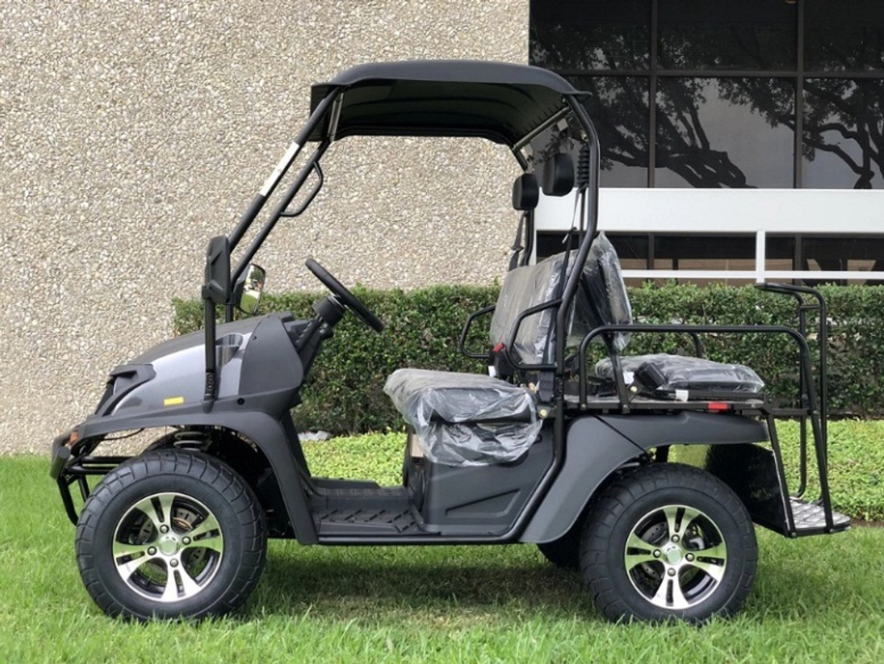 CarbonFiber - Fully Loaded Cazador OUTFITTER 200 Golf Cart 4 Seater Street Legal UTV