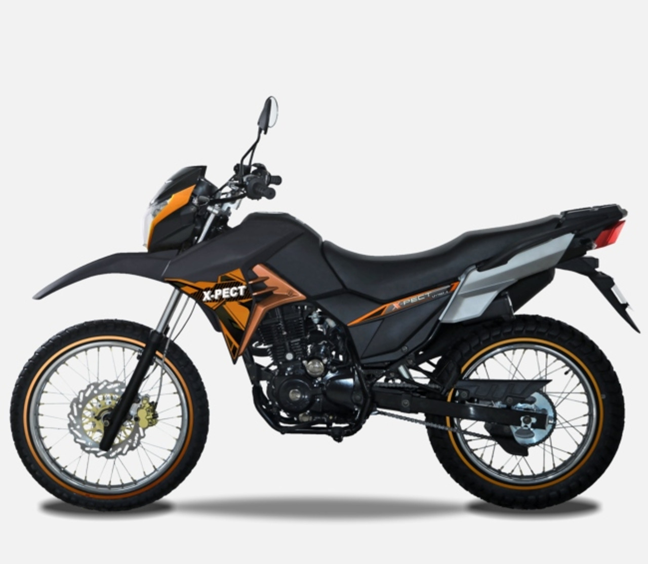 LIFAN X-PECT 200 ELECTRONIC FUEL INJECTION, AIR COOLED, 5 SPEED/MANUAL