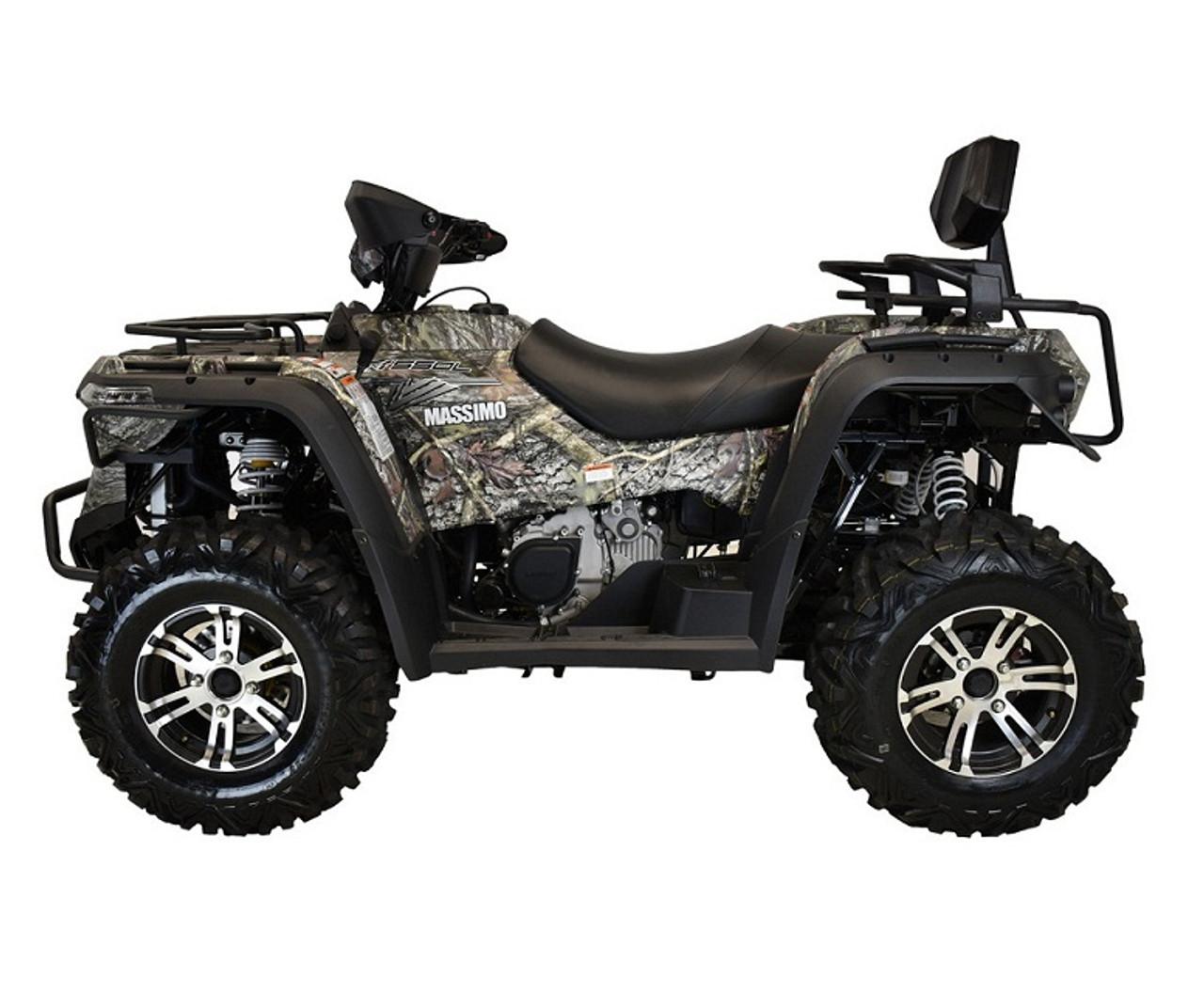 MASSIMO MSA 550 ATV, 493CC FOUR-STROKE, SINGLE CYLINDER SOHC