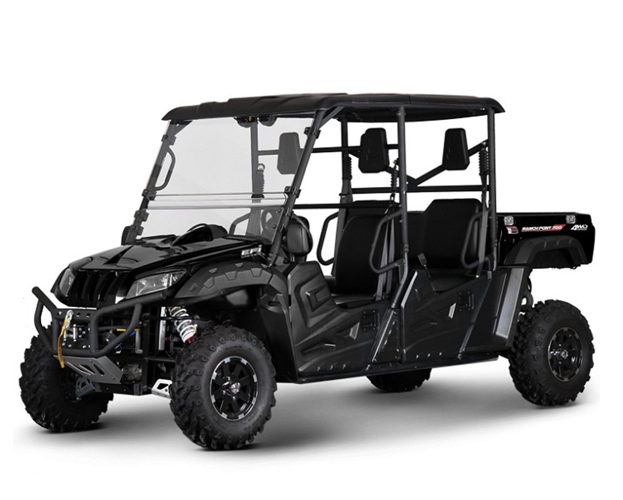 BMS RANCH PONY 700CC EFI 4-SEATER UTV, 43 HP EFI ENGINE, FULLY AUTOMATIC
