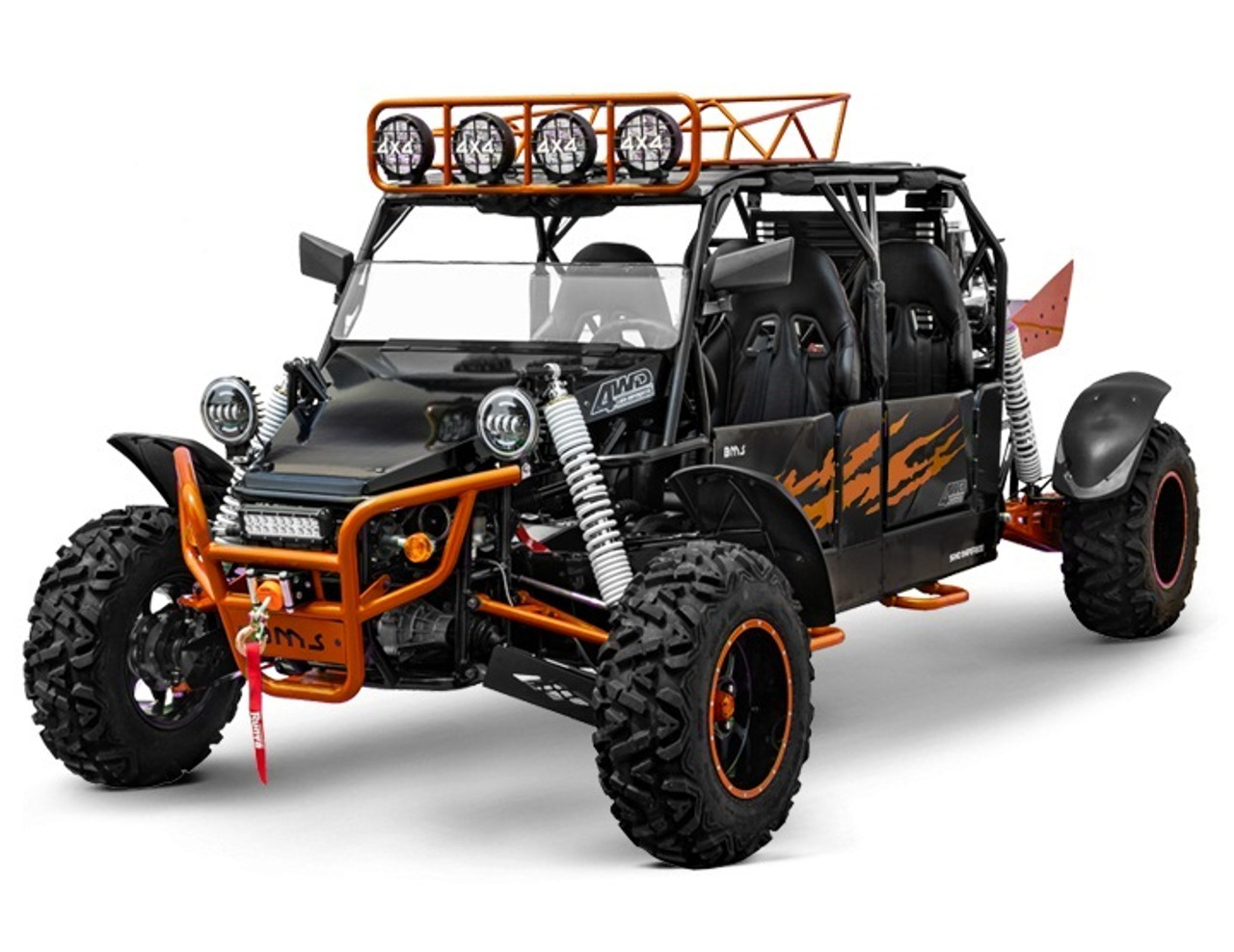 BMS V-TWIN BUGGY 800 PLATINUM 4SEATER, 794CC V-TWIN CYLINDER 4 STROKE WATER COOLED