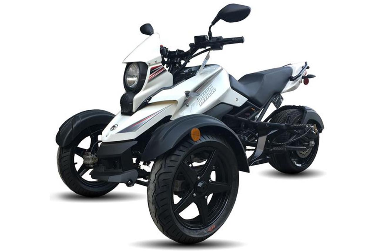 Jasscol Saber 177.3cc Trike, Air Cooled, 4-Stroke, 1-Cylinder, Electric & Kick Start