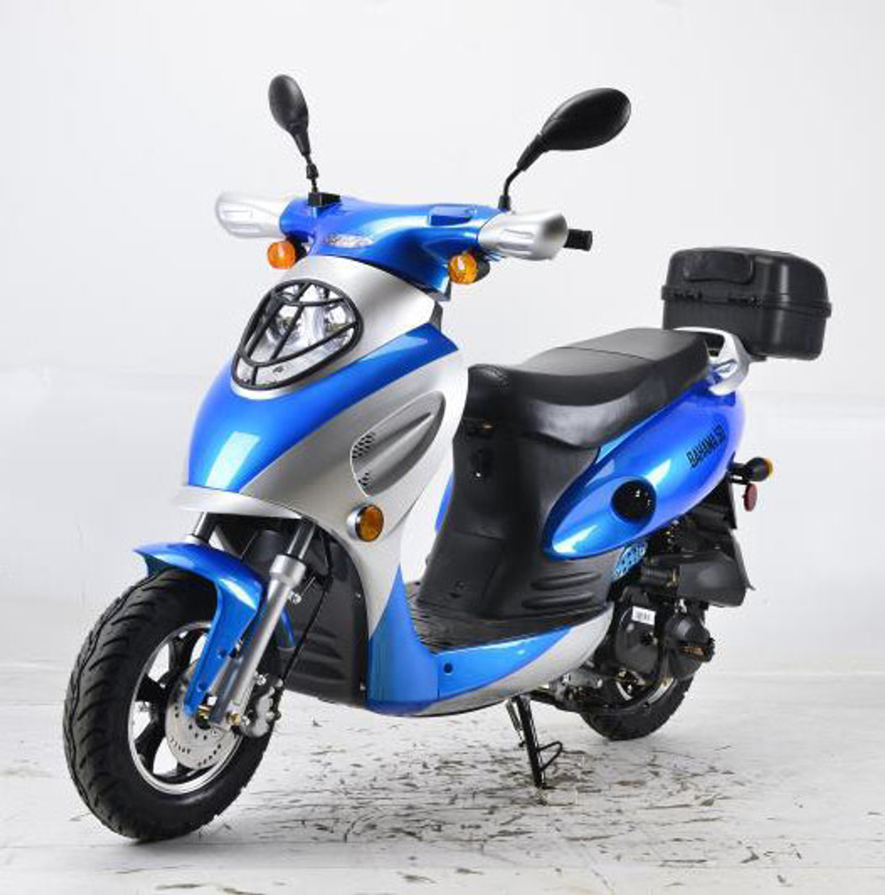 """Vitacci New Bahama MVP 49cc Scooter (10"""" Tire) 4 Stroke, Single Cylinder, Air-Forced Cool"""