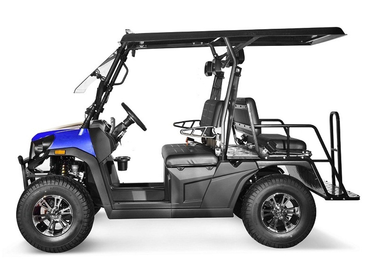 Blue - Vitacci Rover-200 EFI 169cc (Golf Cart) UTV, 4-stroke, Single-cylinder, Oil-cooled - Fully Assembled and Tested