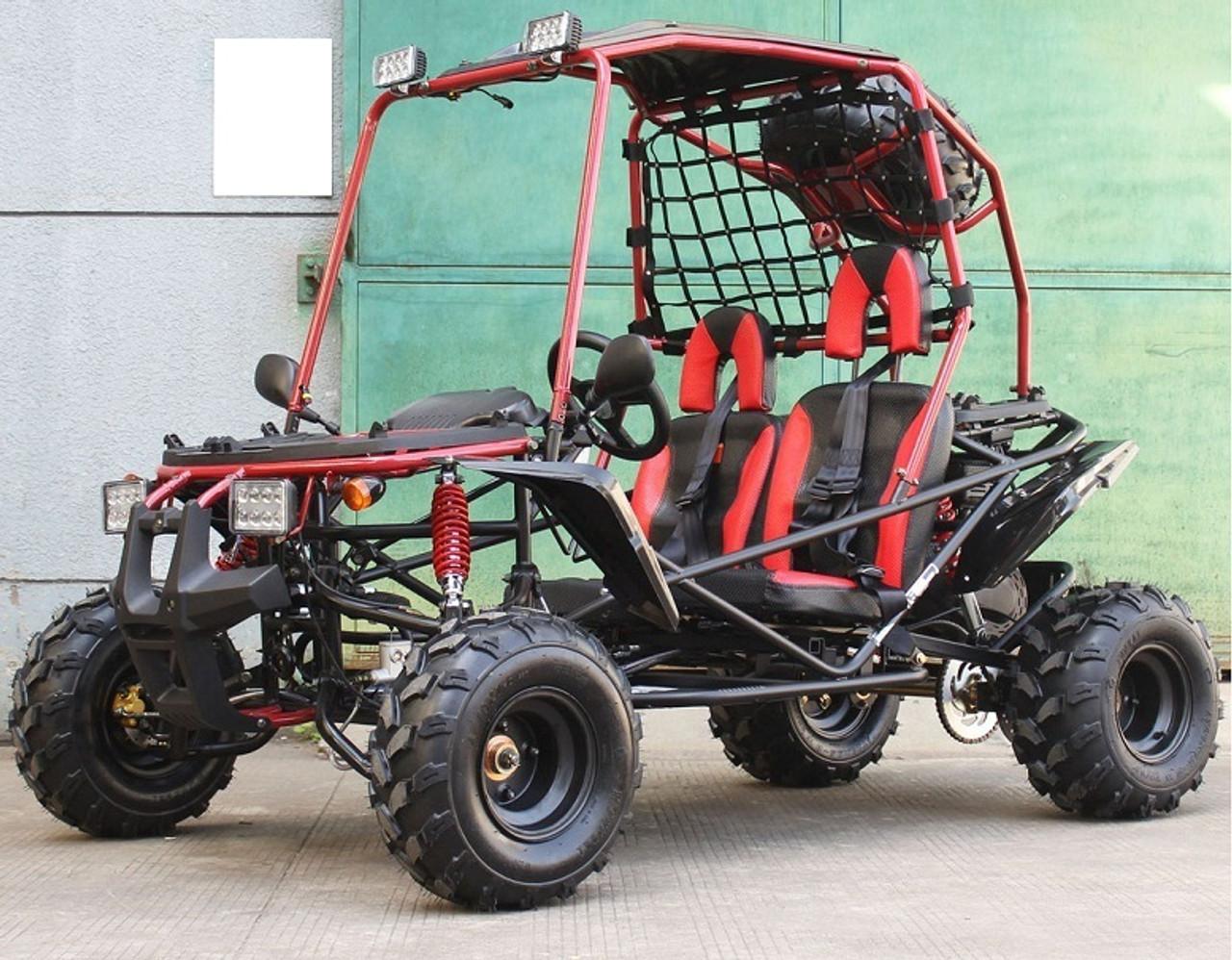 New Cougar Pathfinder 200 GSX (DF200GSX) 196cc Go Kart, Single Cylinder, 4-Storke