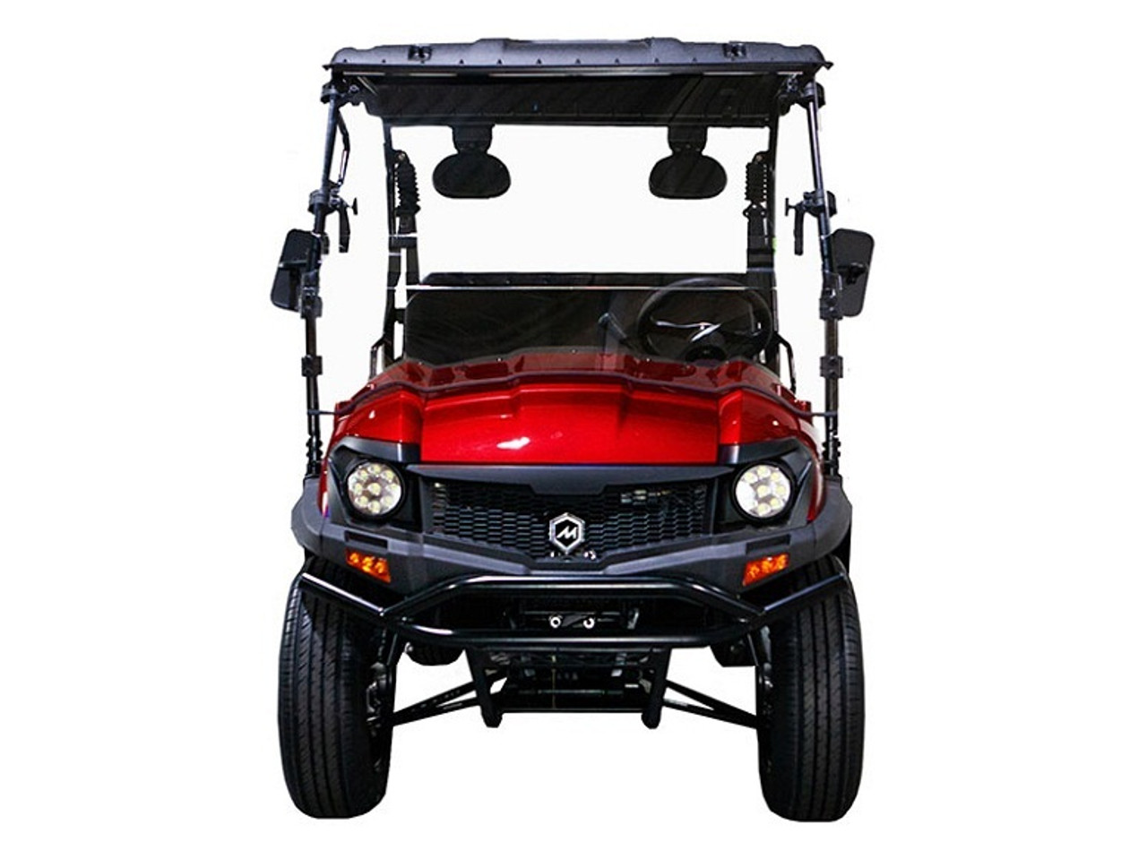 RED - MASSIMO BUCK 200X UTV, 177cc Four-Stroke, Single Cylinder