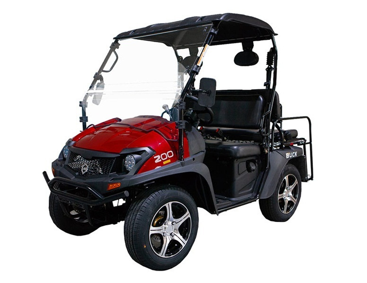 RED - MASSIMO BUCK 200X UTV, 177cc Four-Stroke, Single Cylinder - Fully Assembled and Tested