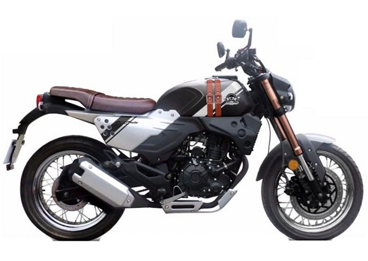 Lifan New KPM200 Year 2020 Motorcycle, 4-Strock, Water Cooled, Single Cylinder, Electric Start