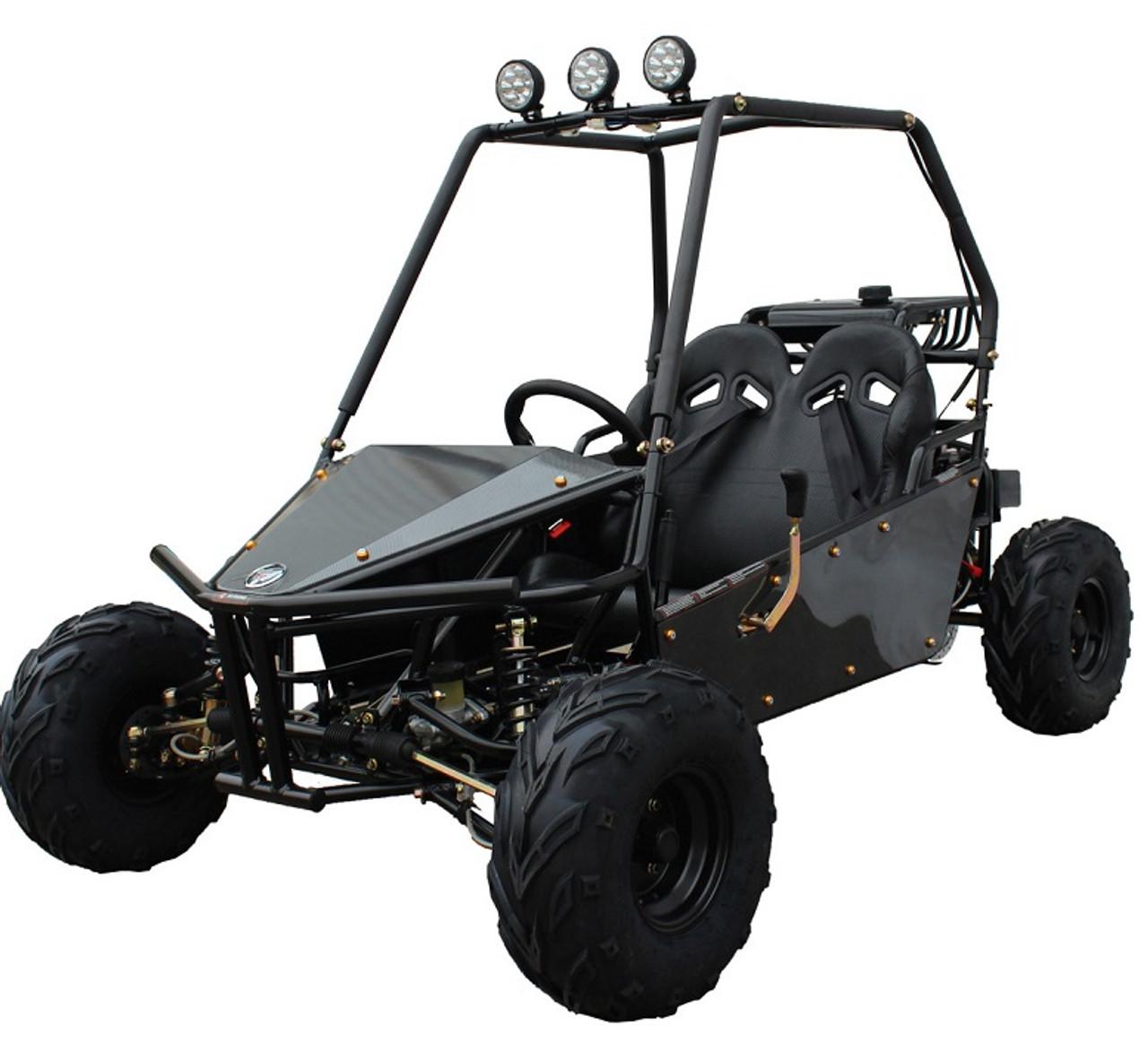 Massimo GKM-125 Go Kart, 4-Strock, Single Cylinder
