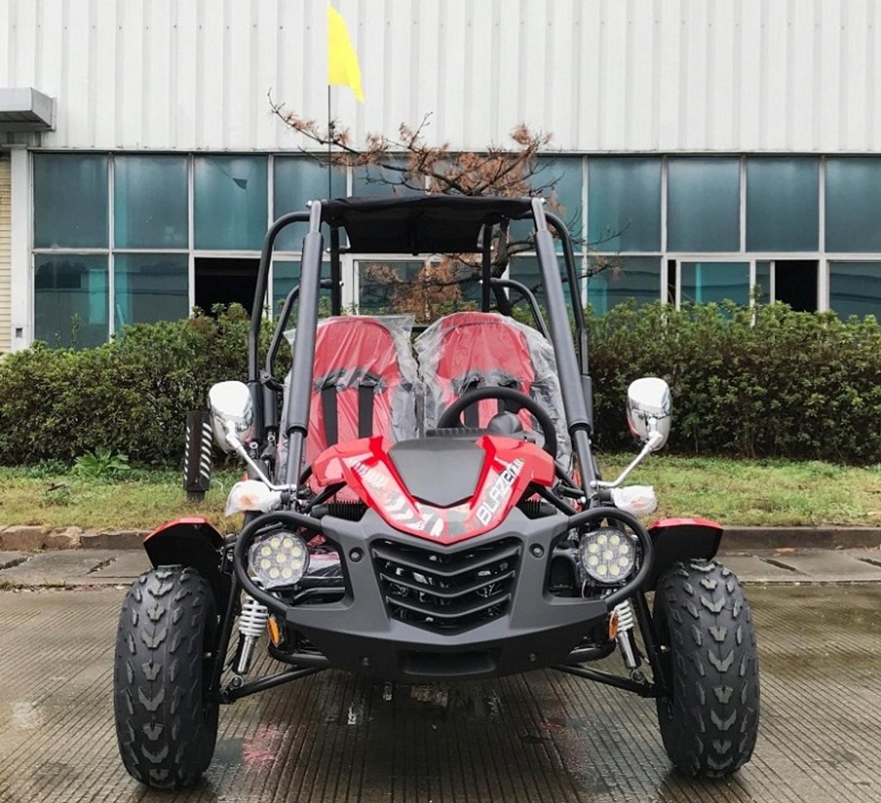 TrailMaster Blazer4 200EX, Air Cooled 4-Stroke, Single Cylinder Go Kart
