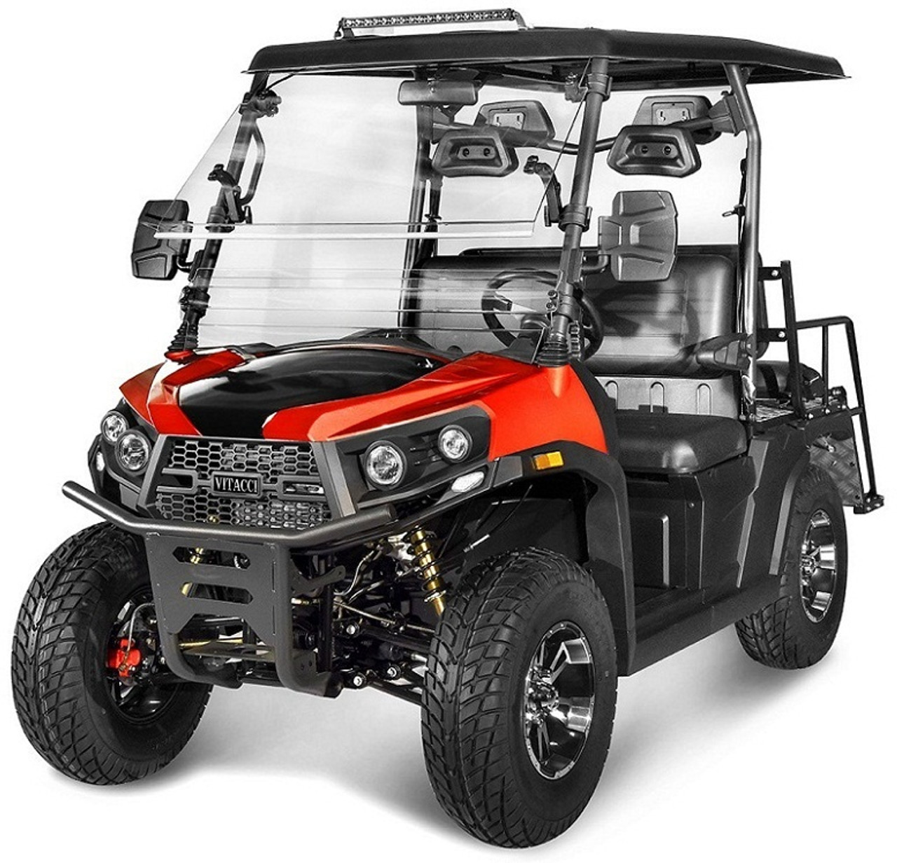 Orange - Vitacci Rover-200 EFI 169cc (Golf Cart) UTV, 4-stroke, Single-cylinder, Oil-cooled