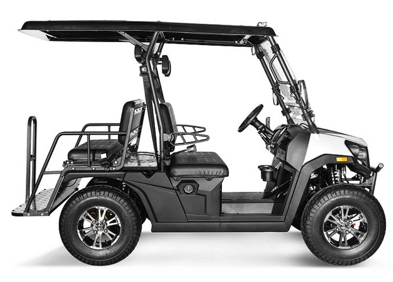 White - Vitacci Rover-200 EFI 169cc (Golf Cart) UTV, 4-stroke, Single-cylinder, Oil-cooled - Fully Assembled and Tested