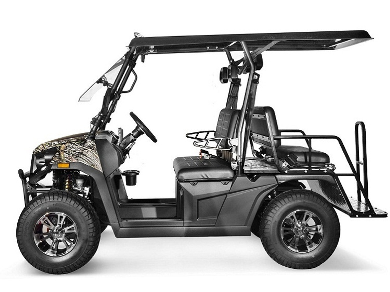 Tree Camo - Vitacci Rover-200 EFI 169cc (Golf Cart) UTV, 4-stroke, Single-cylinder, Oil-cooled - Fully Assembled and Tested