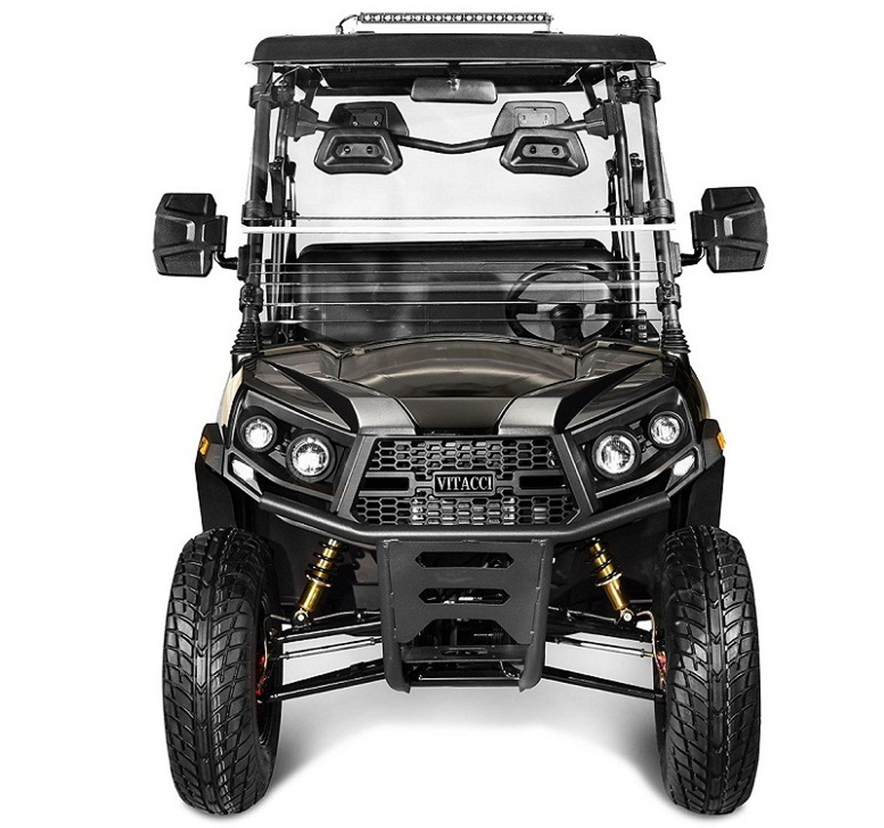 Grey - Vitacci Rover-200 EFI 169cc (Golf Cart) UTV, 4-stroke, Single-cylinder, Oil-cooled