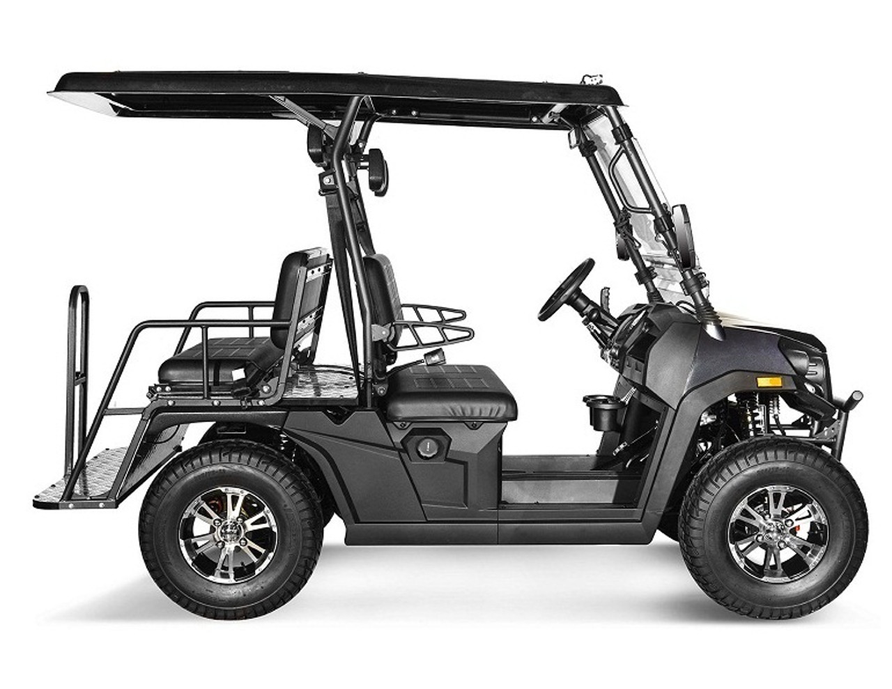 Grey - Vitacci Rover-200 EFI 169cc (Golf Cart) UTV, 4-stroke, Single-cylinder, Oil-cooled - Fully Assembled and Tested