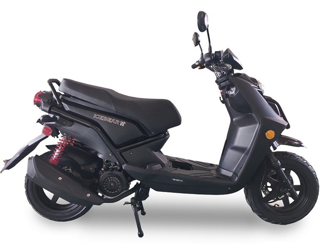 ICE BEAR VISION (PMZ150-17) 150CC SCOOTER, AIR COOLED, AUTOMATIC, ELECTRIC AND KICK START