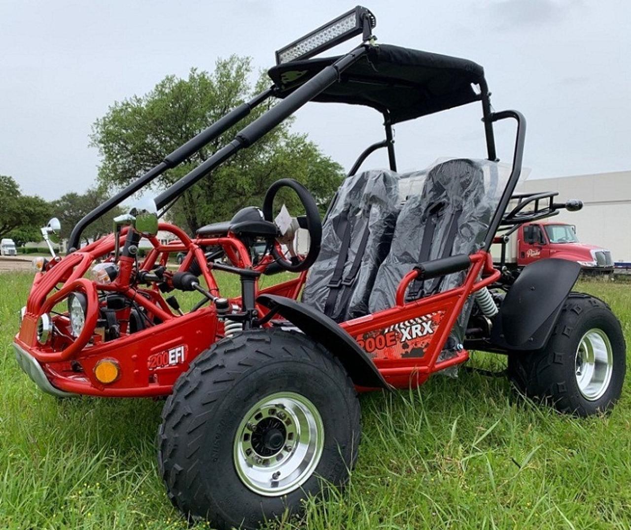 New TrailMaster 200E XRX (EFI) Go Kart, 168.9cc Fully Automatic, Electric Start, Kill Switch