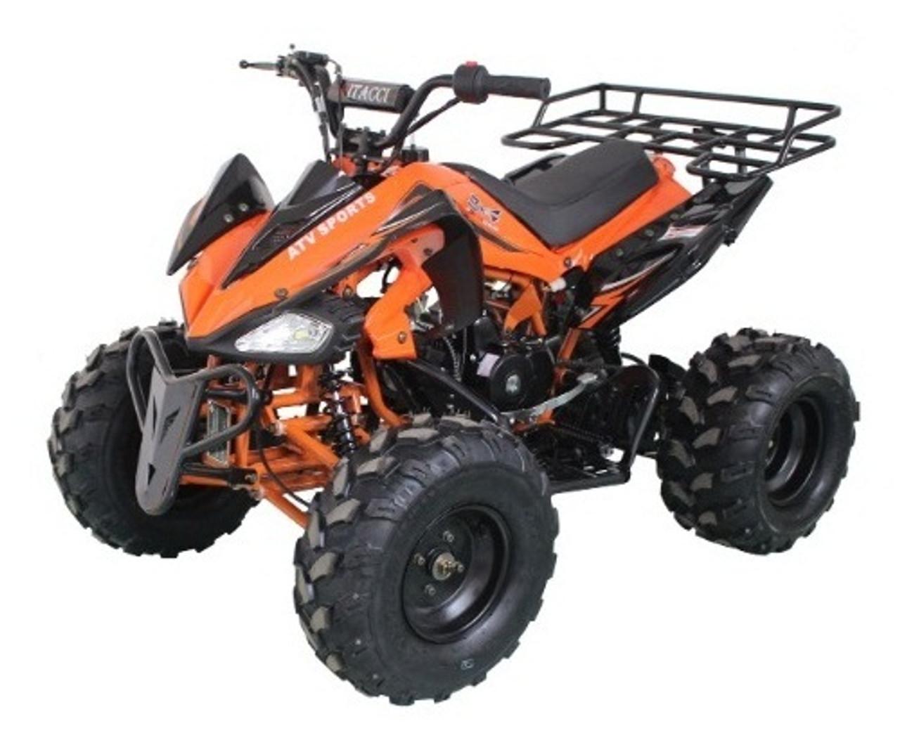 RPS High End JET-9 125cc ATV w/Steel Rims, Single Cylinder, 4 Stroke
