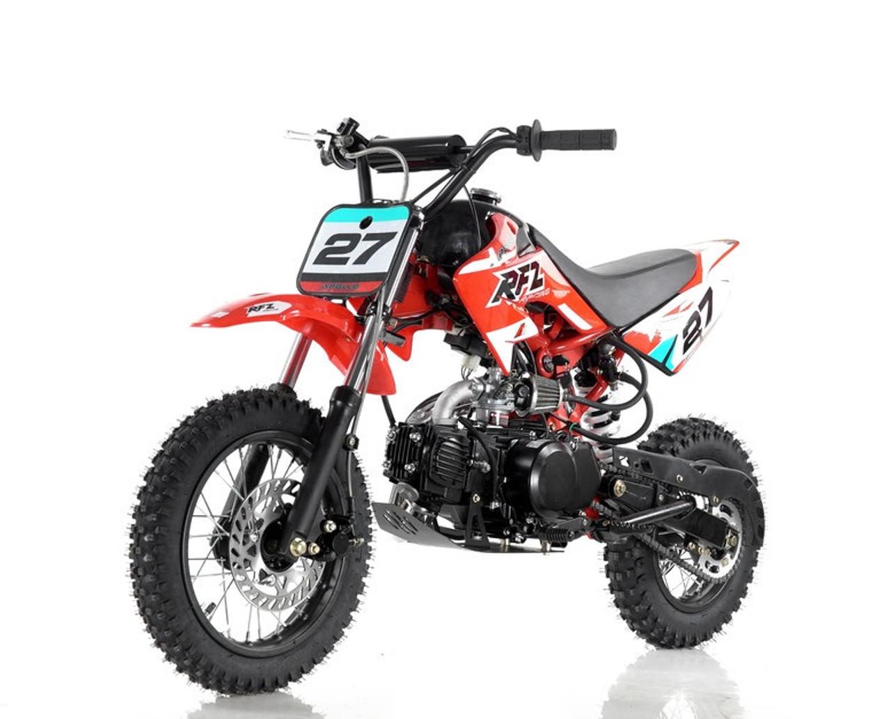 Vitacci DB-27 110cc Dirt Bike, Semi Automatic (4 Gears) And Kick Start - Fully Assembled and Tested