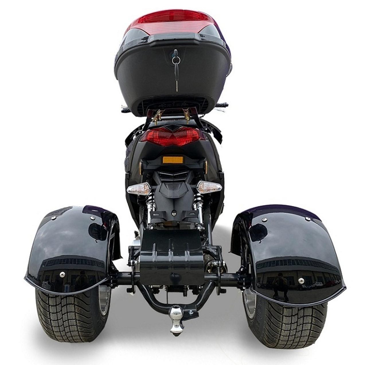 Ice Bear Terifecta 150 (PST150-2) Trike, Automatic, Electric/Kick