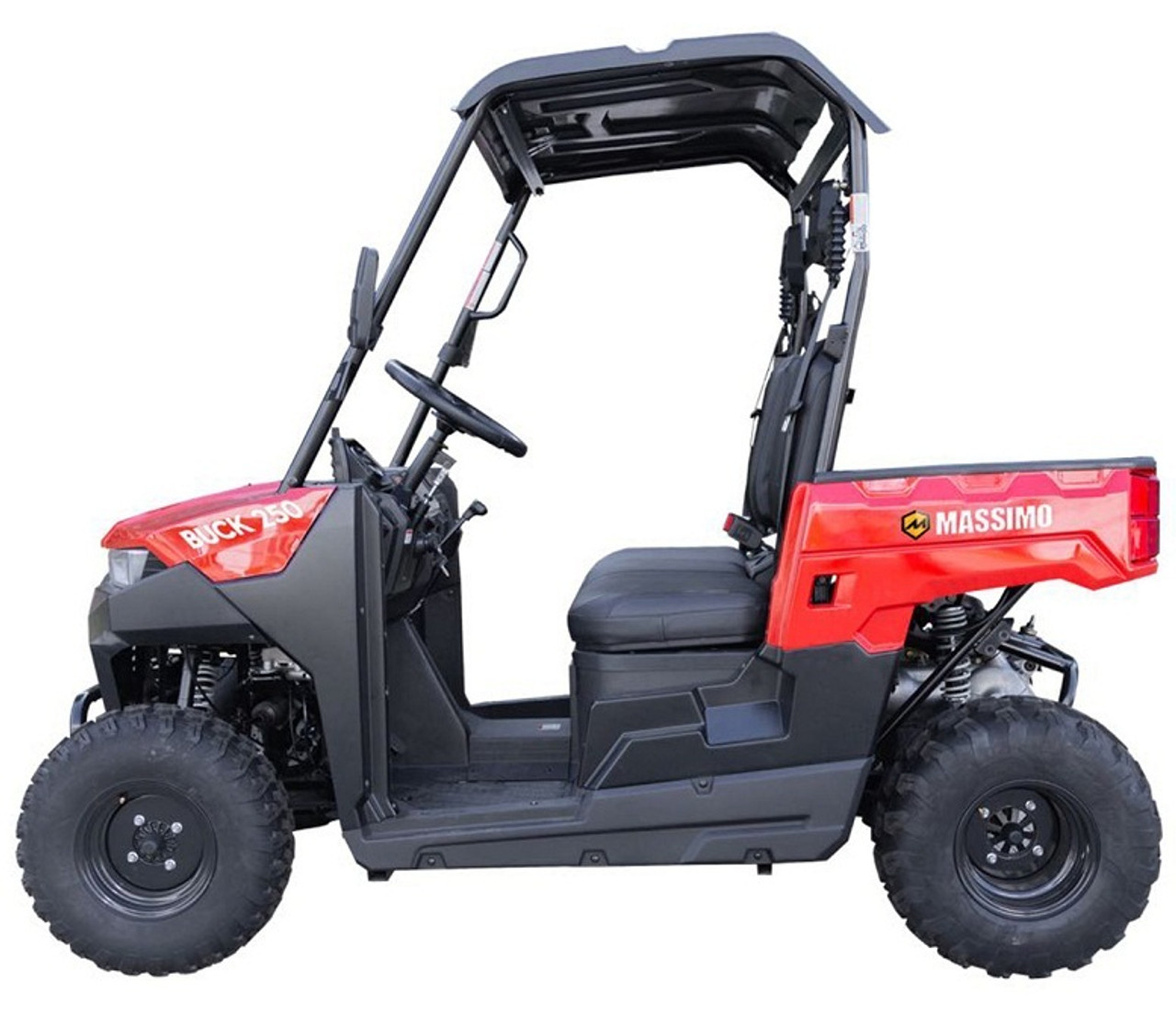 Massimo Buck 250 2021 UTV, 177Cc Efi Air Cooled, 4 - Stroke, Single Cylinder