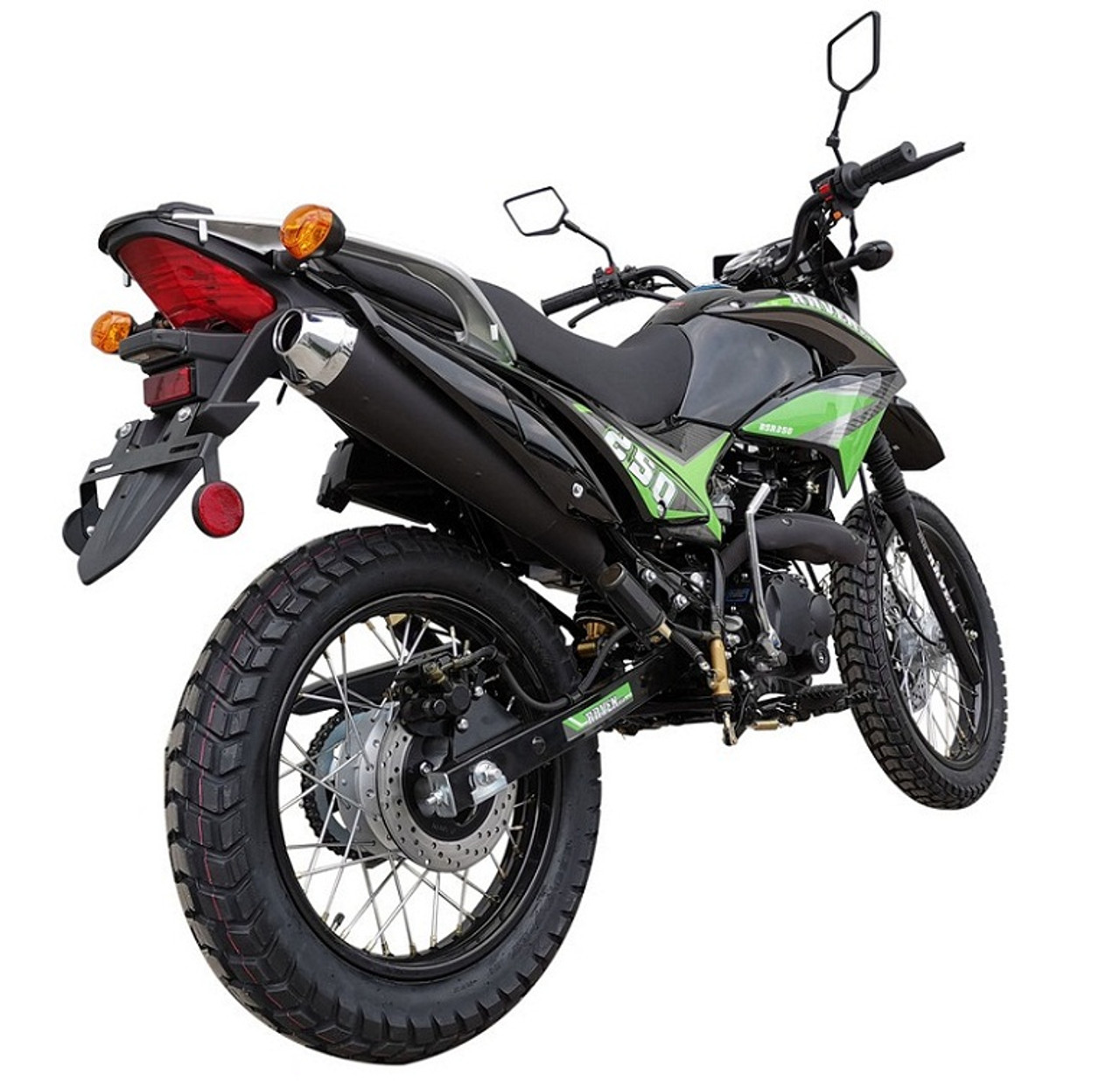 New Vitacci Raven 250cc Dual Sports Street Legal Bike