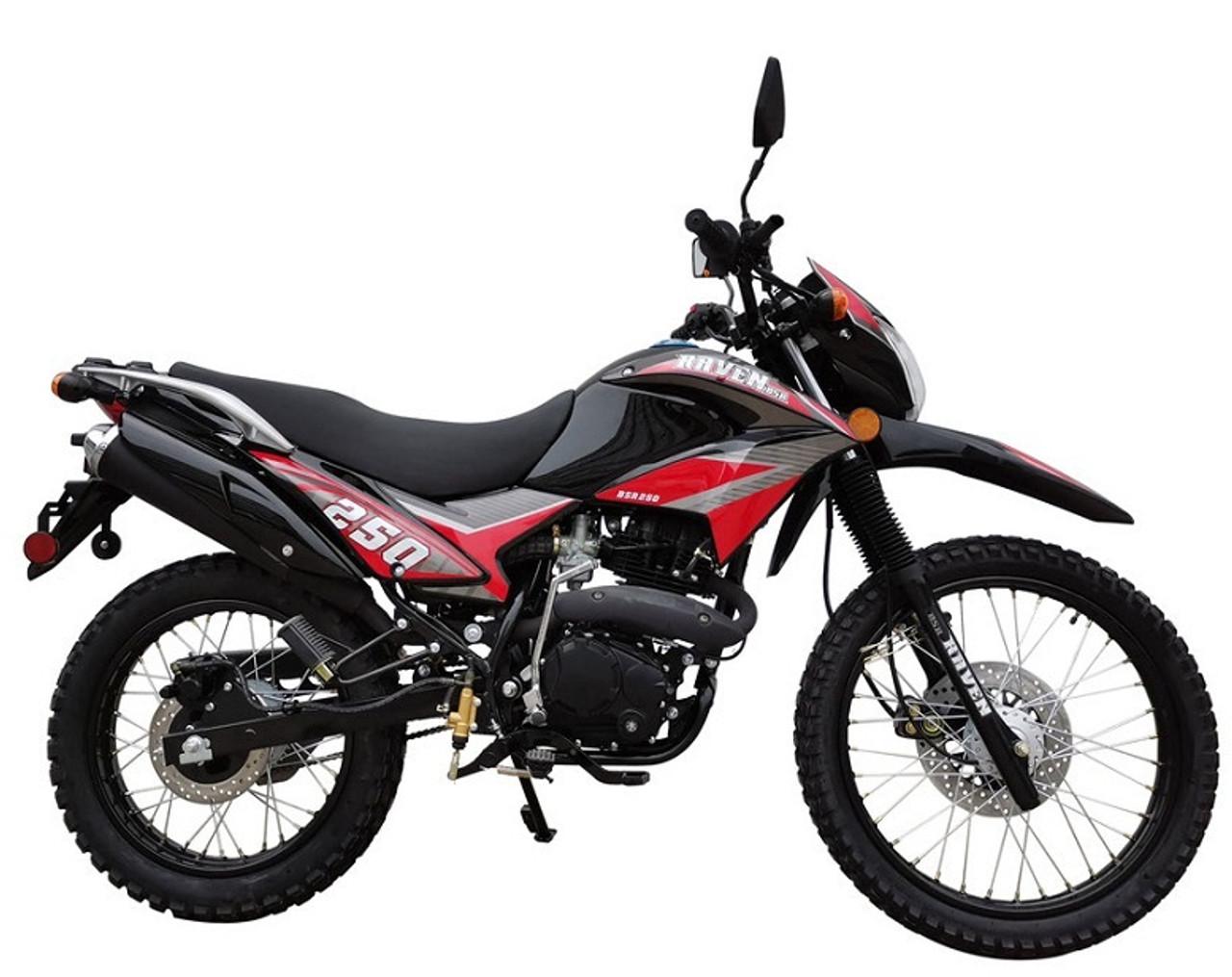 New Vitacci Raven 250cc XL Dual Sports Street Legal Bike
