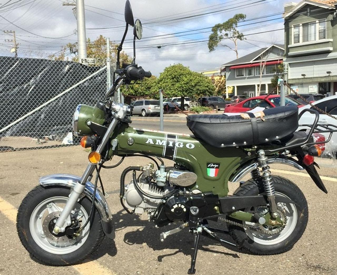 New Amigo Rocky-125 Scooter, Manual 4-Speed