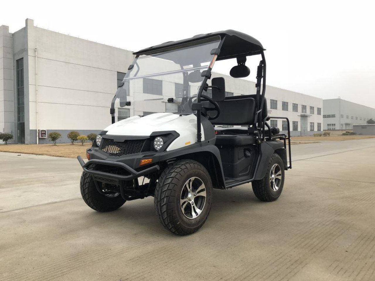 Trailmaster Taurus 200 MFV (Side By Side) 4-Stroke, Single Cylinder, Air And Oil Cooled
