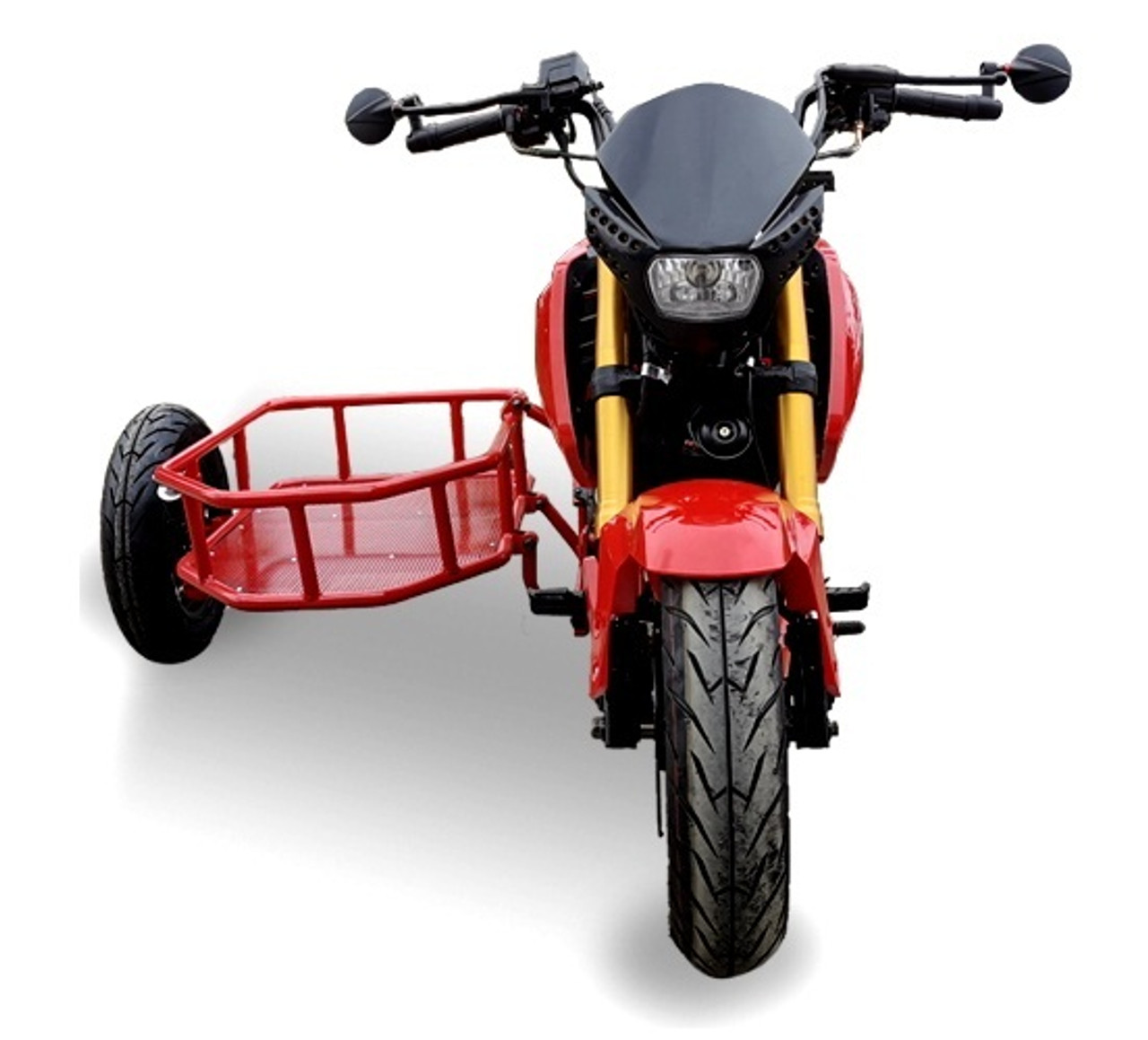 Ice Bear Fuerza (PMZ125-1S) Motorcycle, Electric Start Moped Scooter