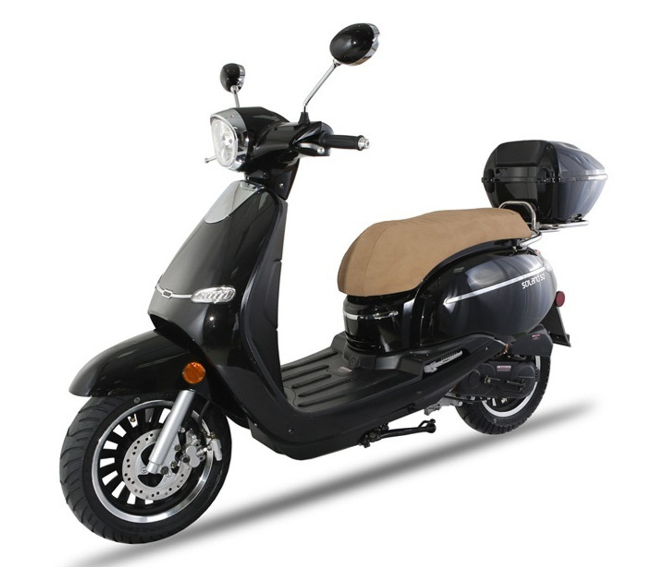 BMS Solano 50 Gas Scooter, Fully Automatic Electric / Kick Start