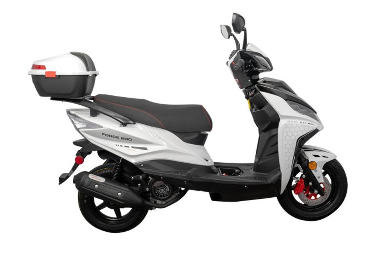 Vitacci Force 200 EFI Scooter, LED Lights, Alloy Wheels