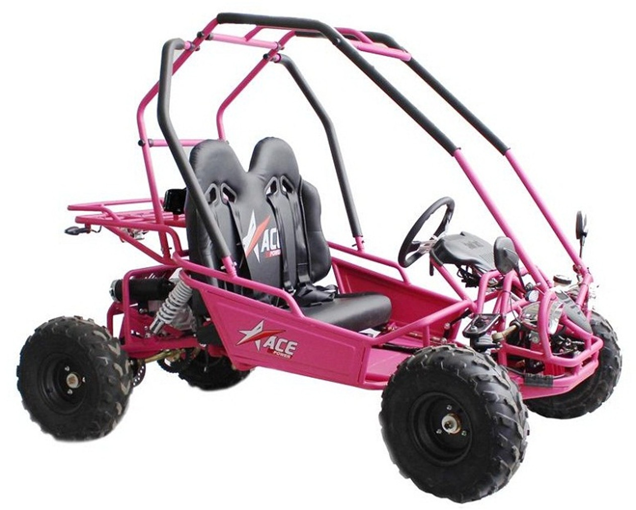 ACE 125 Kids Go Kart, Electric Start, Automatic with Reverse