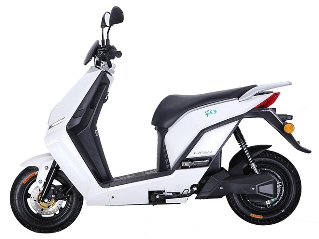 Lifan Venom E3 Scooter, 1200W 60V Lithium Electric Street Legal