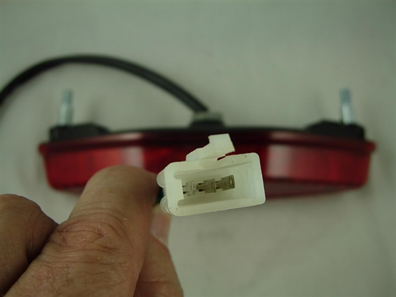 signal light lens rear/tail light len 10776-a44-2