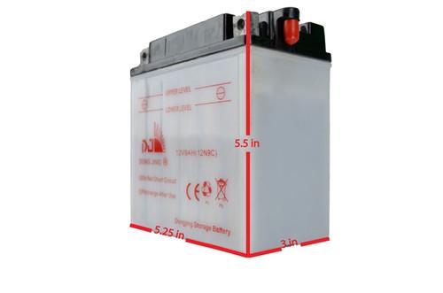 Chinese Atv Parts - Battery - Tao Tao Racer 50 - Affordableatv com