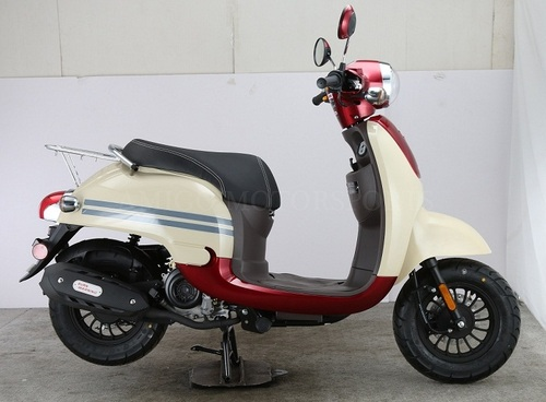 Amigo Citi-50 4 Stroke Gas Moped Scooter, Remote Start