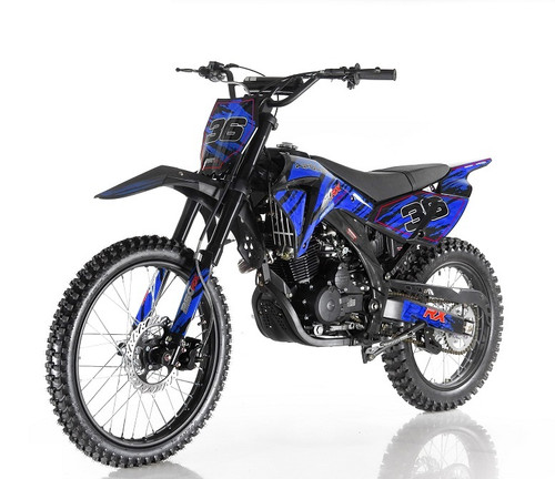 Apollo DB-36 250cc Dirt Bike - Free Shipping HIGH END DIRT BIKE 250CC