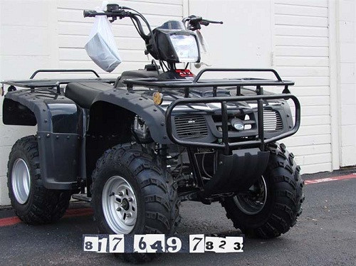 Monster 250 cc  ATV shaft drive