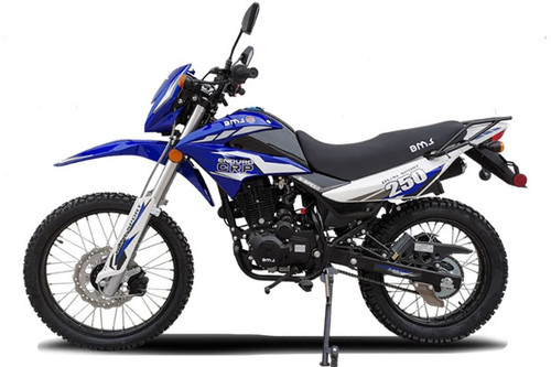 NEW BMS ENDURO 250 CRP Dual Sport Dirt Bike, 5 Speed Manual, Air Cooled Engine