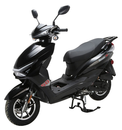 """Vitacci Denali 50 cc 12"""" TIRES! Scooter, 4 Stroke, Air-Forced Cool,Single Cylinder"""