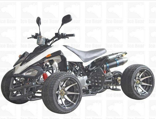 ICE BEAR R12 125cc, Air Cooled, 4-Stroke, 1-Cylinder, Semi-Auto 3-Speed w/ Reverse