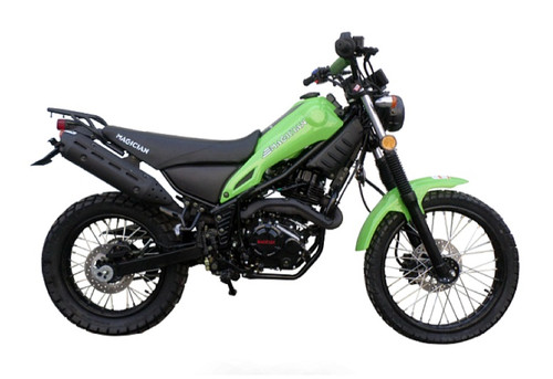IN STOCK NOW ! New Magician Dual Sports enduro dirt bike street legal dirt bike 250cc
