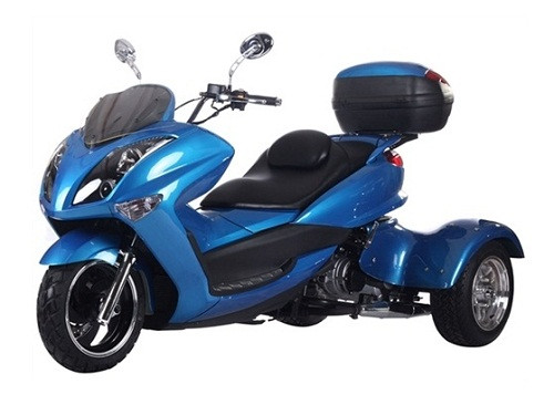 "Ice Bear SPORTY 300cc Motor Trike ""MAGNUM-300"" with Windshield & Big Rear Trunk"