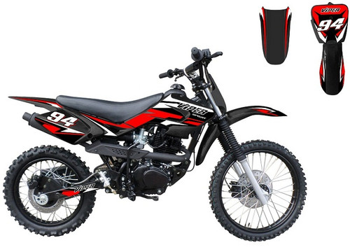 RPS VIPER 150cc DIRT BIKE, Air Cooled 4-Stroke Single Cylinder